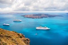 Härligt landskap med havssikt Arkivfoton