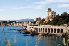 Seafront i Italien Royaltyfri Bild