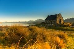 Härligt landskap Nya Zeeland. arkivbilder