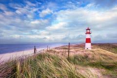 Härligt landskap på havet Fotografering för Bildbyråer