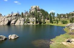Härligt landskap på Sylvan Lake Royaltyfri Foto