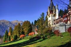 Härligt landskap Plats i rumänska Carpathians Royaltyfri Fotografi