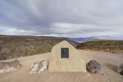 Härligt landskap runt om fältprästCrowley punkt Arkivbilder