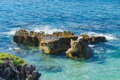 Härligt landskap runt om Laguna Beach arkivfoton