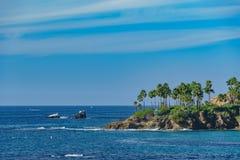 Härligt landskap runt om Laguna Beach royaltyfria foton