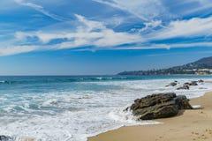 Härligt landskap runt om Laguna Beach royaltyfria bilder