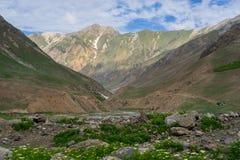 Härligt landskap som är pakistanskt i sommar, Pakistan Royaltyfri Foto