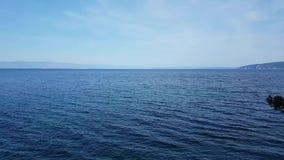 härligt medelhavs- hav stock video
