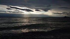 härligt medelhavs- hav arkivfilmer