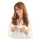 Kaffeavbrott Fotografering för Bildbyråer