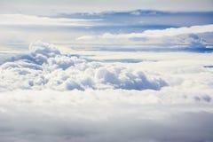Härligt moln för blå himmel Arkivbild
