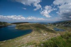 Härligt naturligt berg från Bulgarien arkivfoto