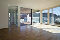 härligt nytt för lägenhet Royaltyfri Fotografi