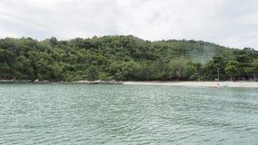 Härligt och tomt hav i Thailand Royaltyfri Fotografi