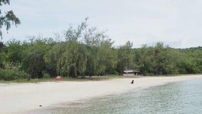 Härligt och tomt hav i Thailand Royaltyfri Bild