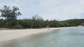 Härligt och tomt hav i Thailand Royaltyfria Bilder