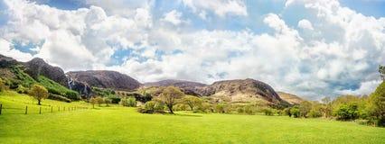 Härligt panorama- landskap i Kenmare royaltyfri bild