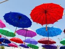 Härligt paraply Arkivbild