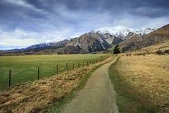Härligt sceniskt av slottkullen i nationalpark M för passerande för arthur ` s Royaltyfria Foton