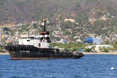 Härligt servicefartyg royaltyfria foton