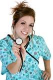 härligt sjuksköterskabarn Royaltyfri Foto