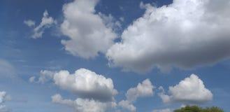 Härligt skott för himmelmoln royaltyfri bild