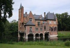 härligt slott Arkivfoto