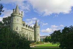 härligt slott Arkivfoton