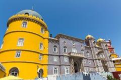 härligt slott Royaltyfri Fotografi