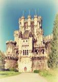 Slott av Butron Royaltyfria Foton