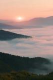 Härligt sommarlandskap, Europa berg, Europa lopp, skönhetvärld arkivfoton