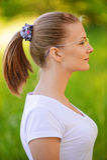 härligt ståendekvinnabarn Royaltyfri Foto