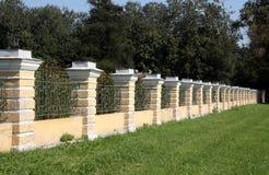 härligt staket Arkivfoton