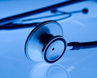 härligt stetoskop Fotografering för Bildbyråer
