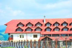 härligt stort hotell ett Royaltyfri Fotografi