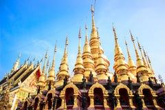 härligt tempel Arkivbilder