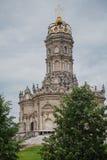härligt tempel royaltyfri bild