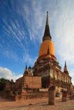 härligt tempel thailand Arkivbild