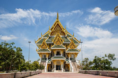 härligt tempel thailand Royaltyfri Bild