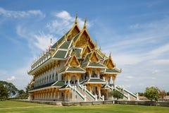 härligt tempel thailand Arkivfoton