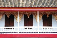 härligt tempel thailand Arkivfoto