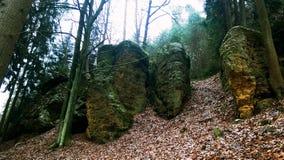 Härligt tjeckiskt landskap Royaltyfri Fotografi