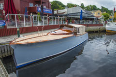 Härligt träfartyg Royaltyfri Foto