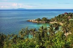 Härligt tropiskt landskap i Thailand royaltyfria bilder