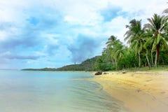 Härligt tropiskt paradis Arkivfoton