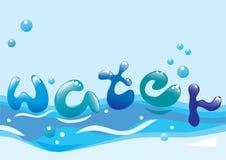 härligt vatten för bakgrund Royaltyfria Bilder
