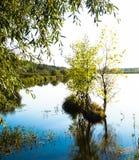 härligt vatten för bildnaturö Fotografering för Bildbyråer
