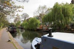 Härskande kanal för ` s - London - UK Arkivbilder
