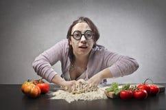 Hässliche Hausfrau Lizenzfreie Stockfotos