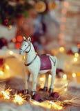 Häst i kedjan Royaltyfri Fotografi